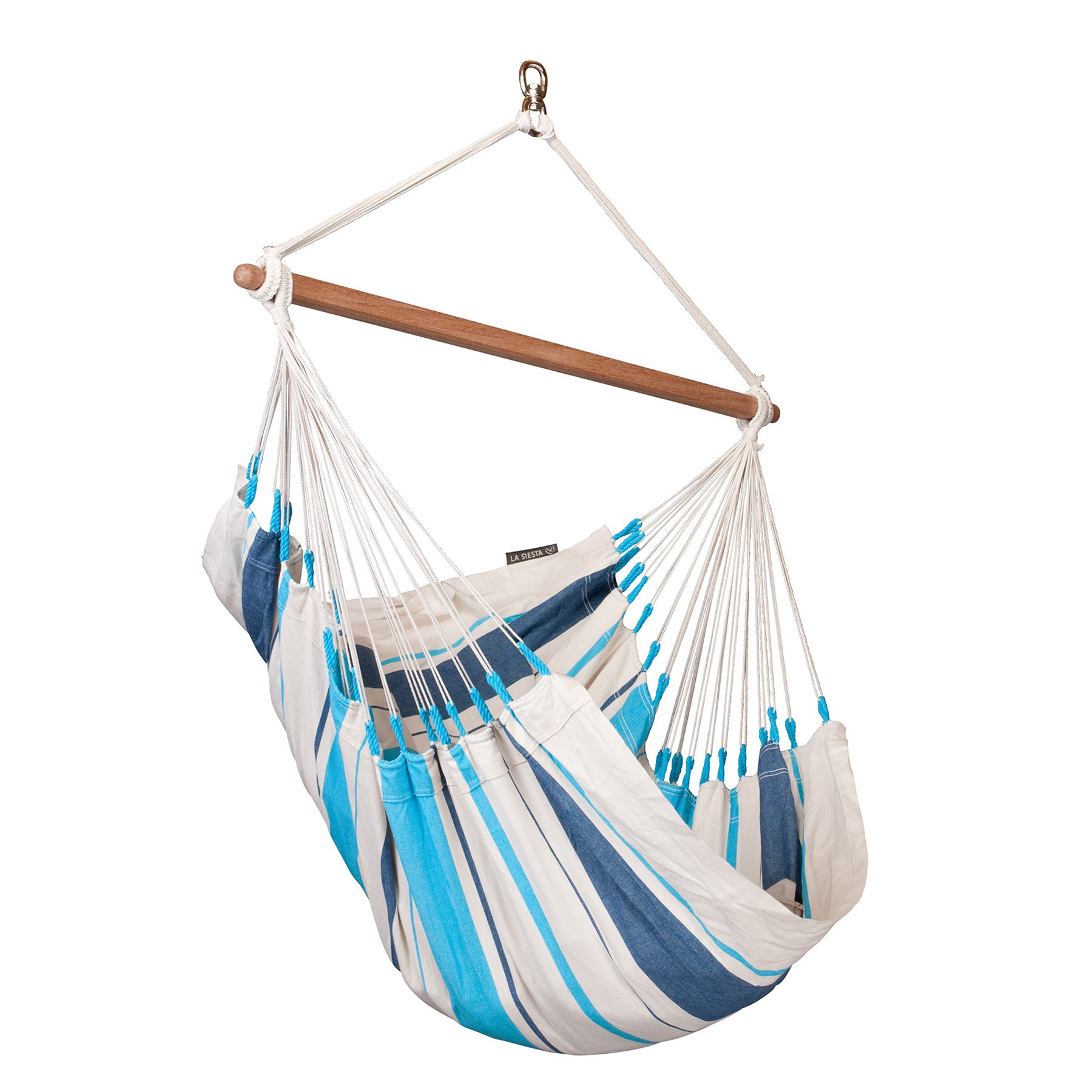Chaise Hamac Caribena Aqua Blue