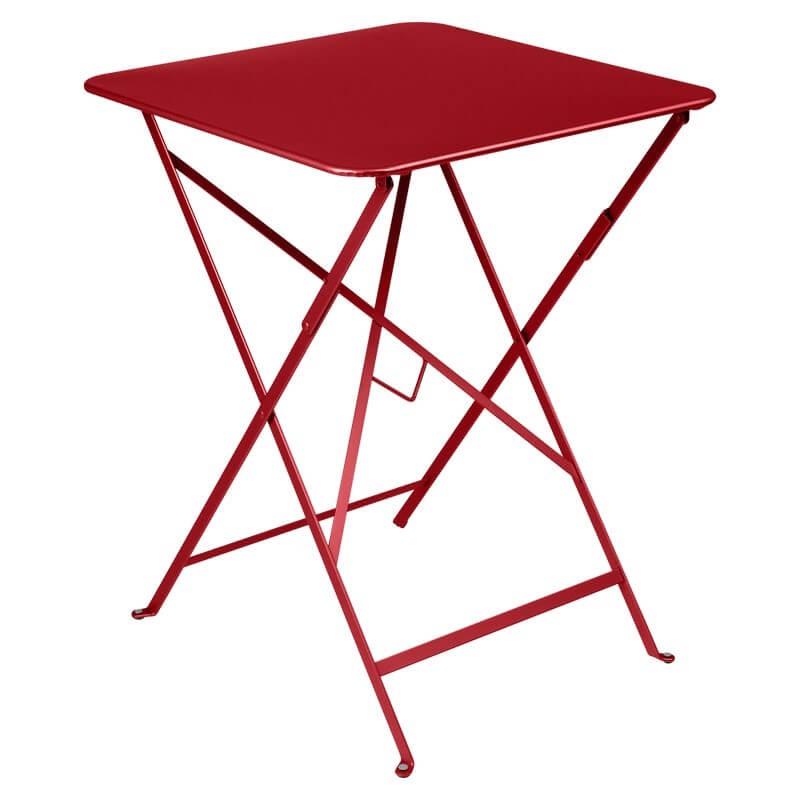 Table Bistro carrée 57x57 cm