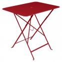 Table Bistro carré 77x57 cm