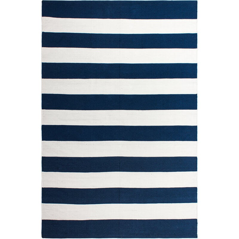 Tapis outdoor Nantucket bleu