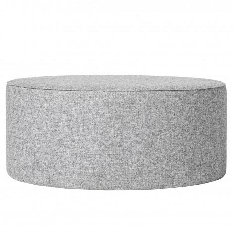 Pouf en laine gris
