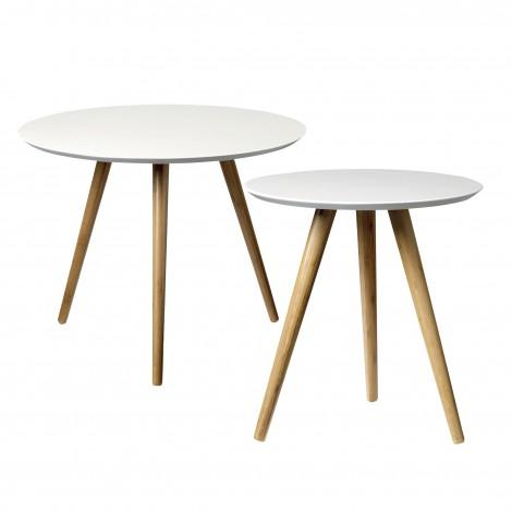 Tables basses bambou (2 pièces)