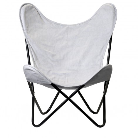 Chaise Butterfly grise