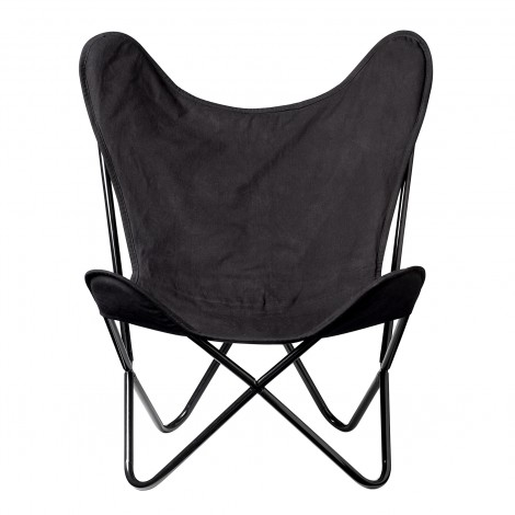 Chaise Butterfly noire