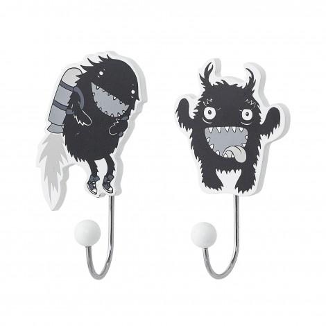 Crochets monstre (2 pièces)