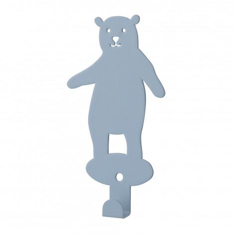 Crochet ours bleu